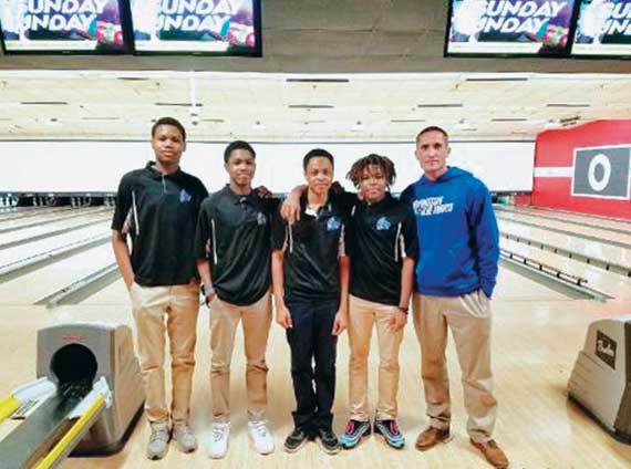 PHOTOS: Irvington HS bowling teams