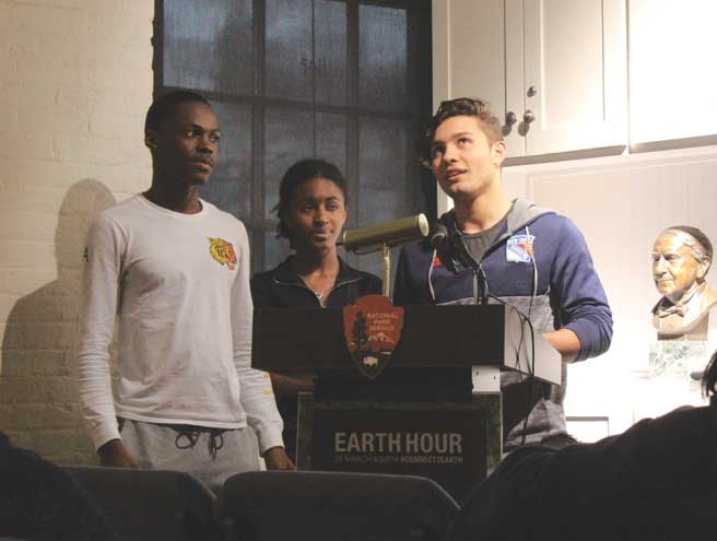 WO kicks off Earth Hour with student presentations