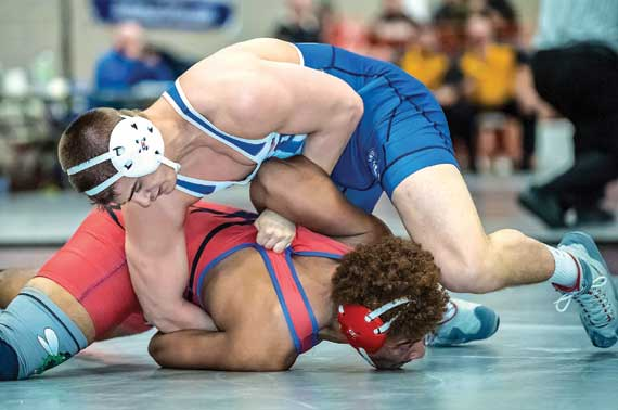 Seton Hall Prep wrestler Michael Massa takes sixth place at state finals in Atlantic City