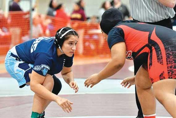 West Orange HS' Sandra Guererro wins state girls wrestling tournament title; Precious Opara finishes runner-up