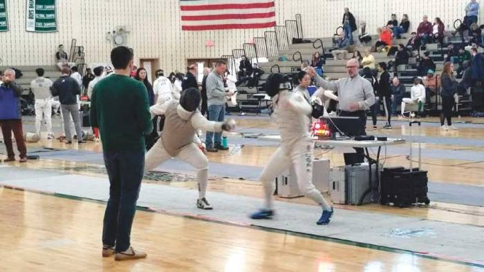 Nutley Athlete of the Month: Owen Lockwood, fencing