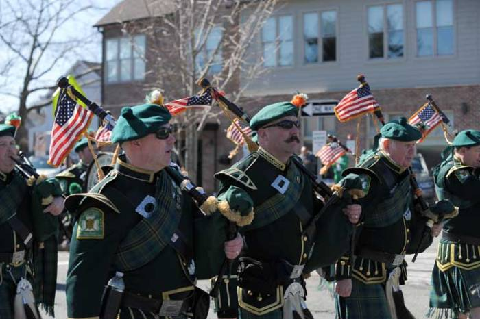 Nutley community shows Irish pride at annual parade