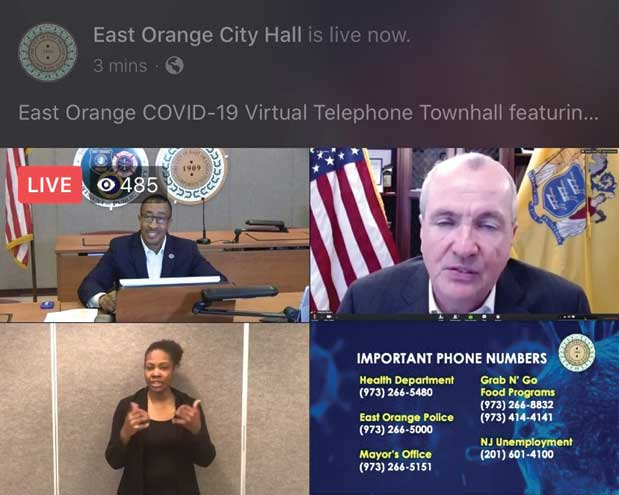 EO town hall meeting features Gov. Murphy