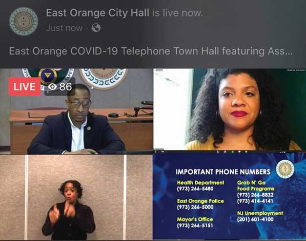 Assemblywoman speaks about People's Bill at virtual meeting