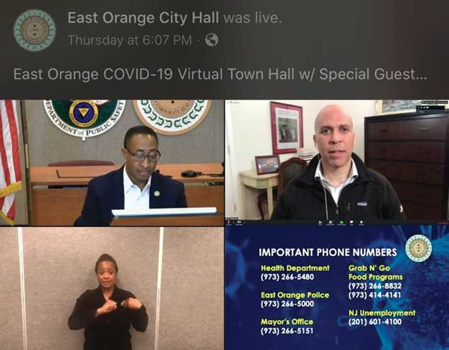 Booker details the fight for more money during EO Town Hall Forum