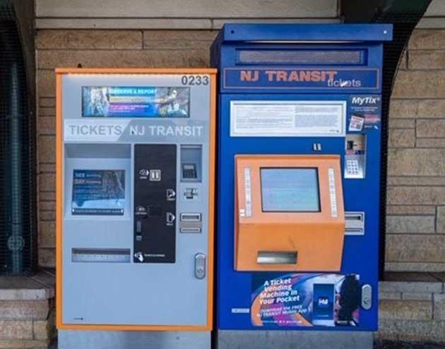 NJ Transit deploys modernized ticket vending machines