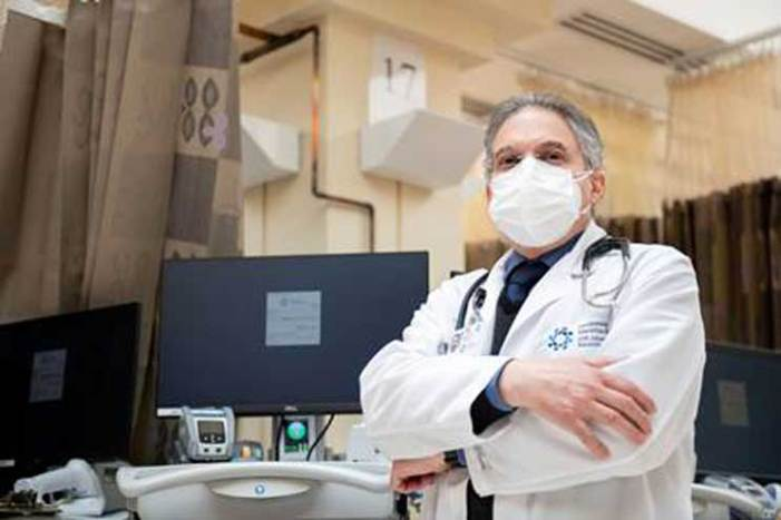 Nutley physician recovered from COVID-19 returns to work