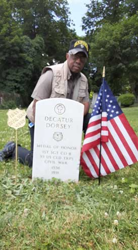 Belleville Historical Society celebrates Flag Day by honoring Dorsey