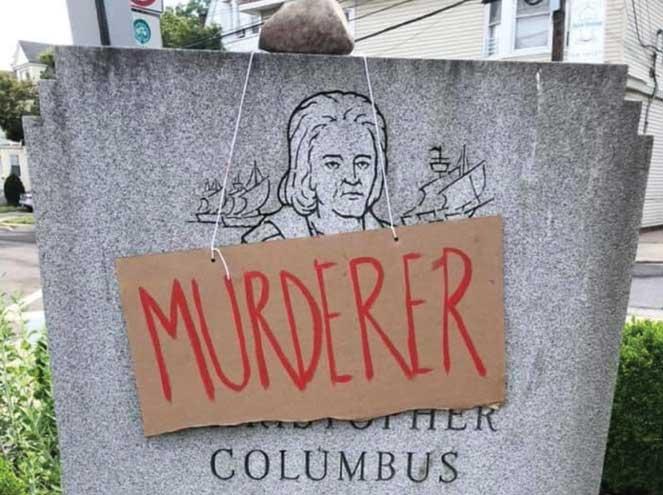 West Orange to remove Columbus monument