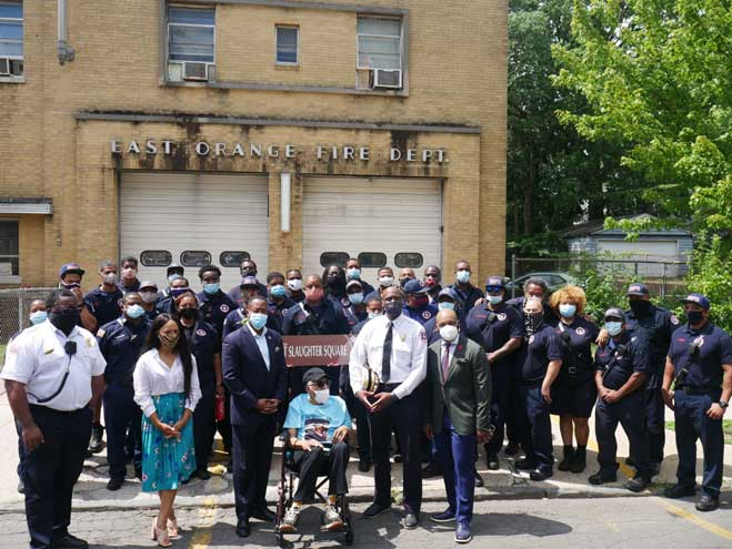 East Orange honors first black fire captain with street renaming