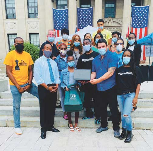 Donors provide students with laptops, learning kits for East Orange's Virtual SWEP
