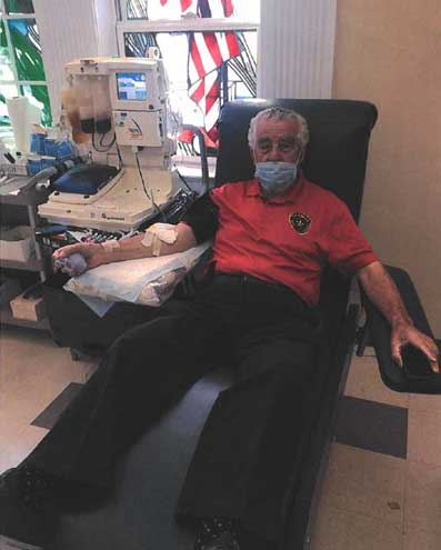 Red Cross praises Fontoura for donating plasma
