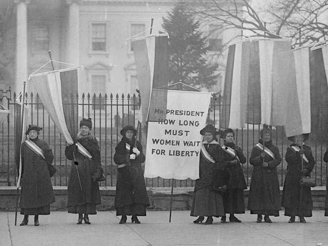 NJPAC salutes pioneers of protest who won women the right to vote