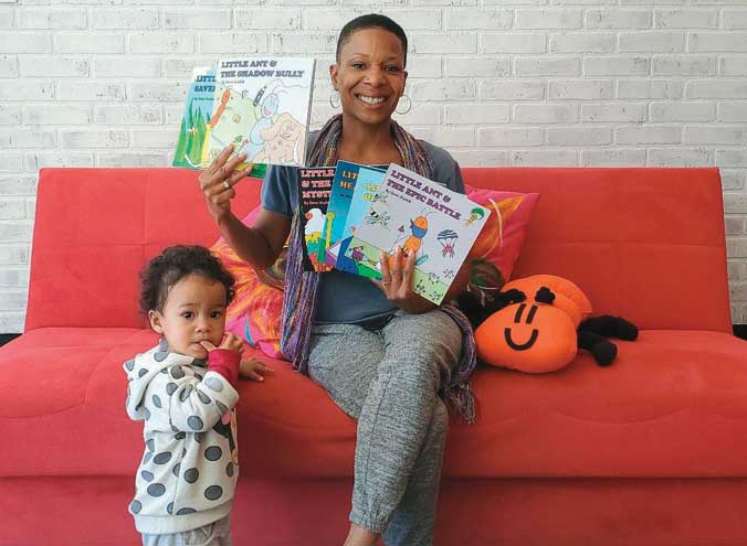Bloomfield art studio partners with Nutley children's author