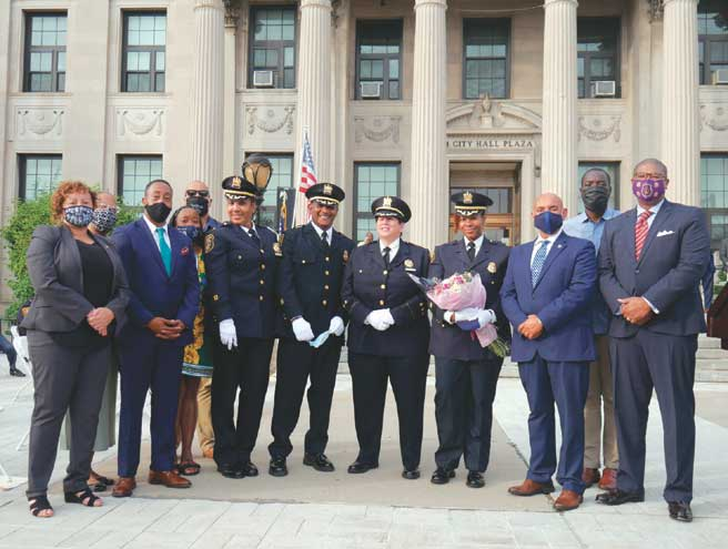 East Orange police division promotion ceremony ushers in historic moment