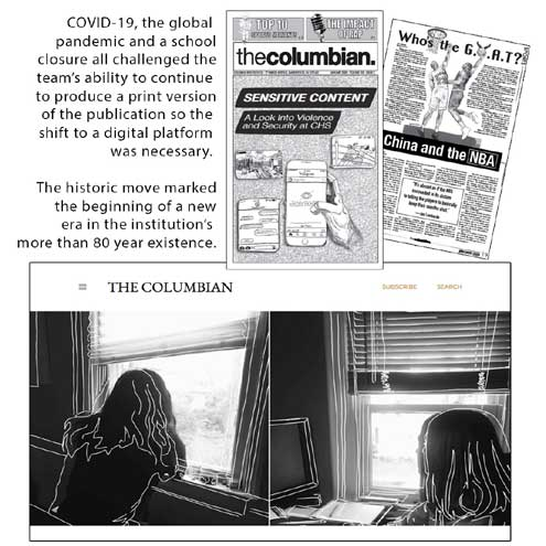 Columbia's school newspaper wins first place for the sixth year in a row