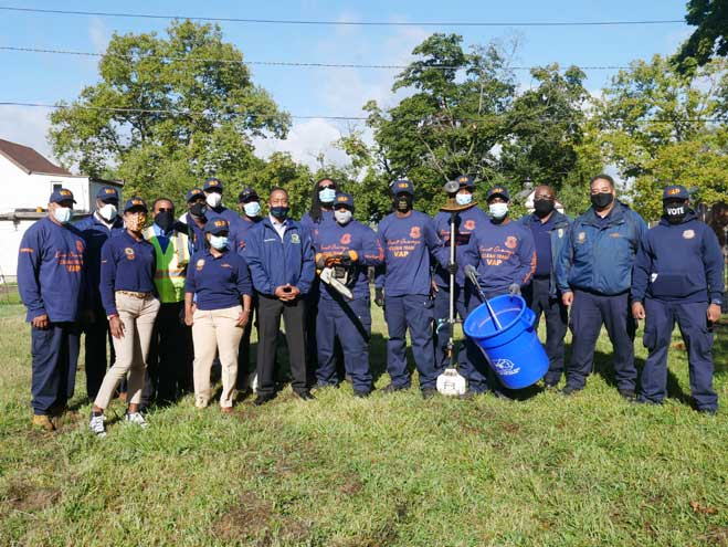 Cleanup team designated to maintain vacant and abandoned properties