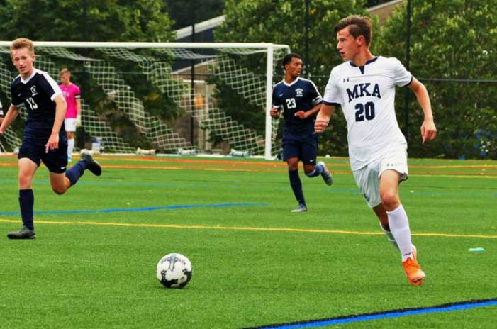 O'Dell is key booter for MKA boys soccer team
