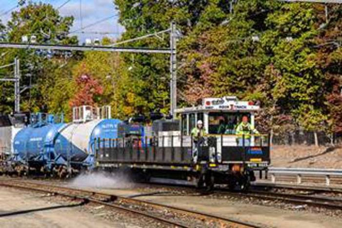NJ Transit rolls out AquaTrack for fall cleanup