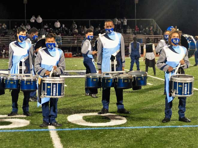 West Orange High School marching band rocks out