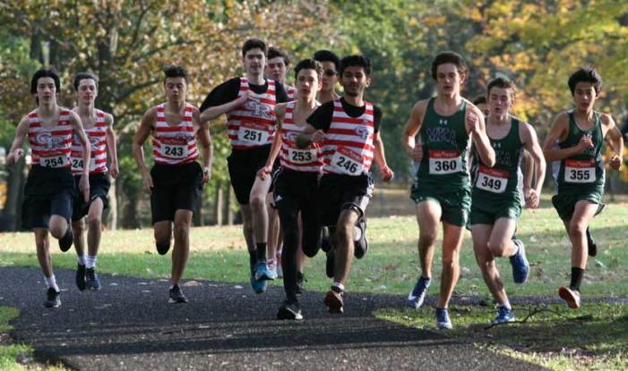 Ridgers take fifth place in cross country meet