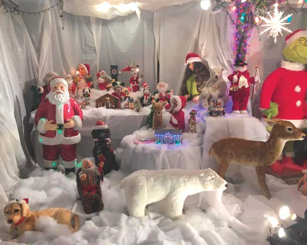 Bloomfield teen decks his halls with all sorts of decorations