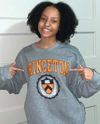 East Orange student receives full scholarship to Ivy League school