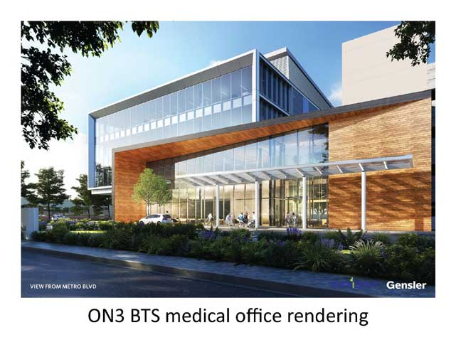 Prism receives final site plan approval for build-to-suit medical office at ON3