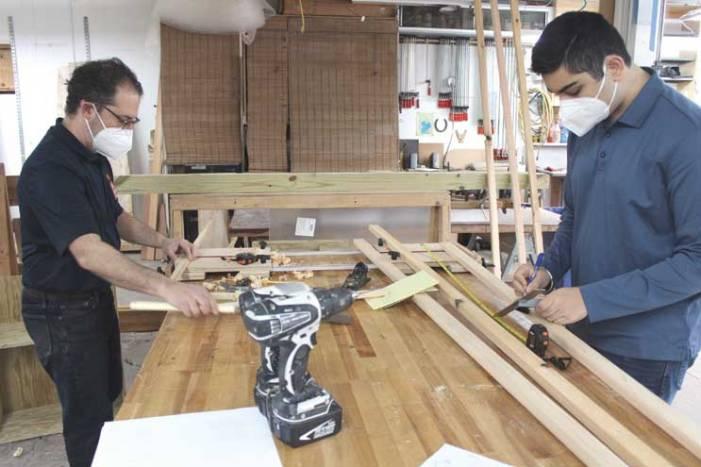 West Orange teen builds Little Free Pantry