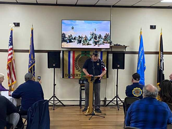 Belleville American Legion Post remembers Desert Storm after 30 years