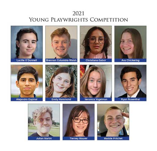 Area students win Young Playwrights Awards from the Theater Project