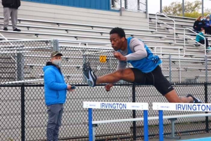 Irvington track teams spring into action