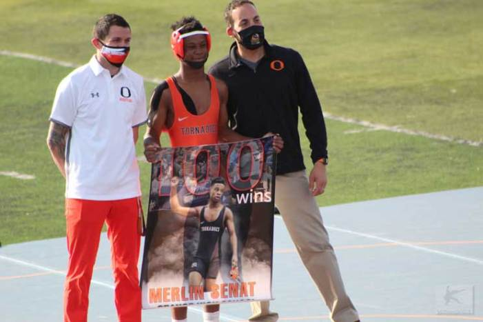 Orange student-athlete reaches huge milestone: 100 career wins