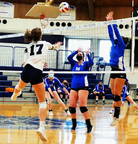 West Orange resident is key for successful MKA spikers