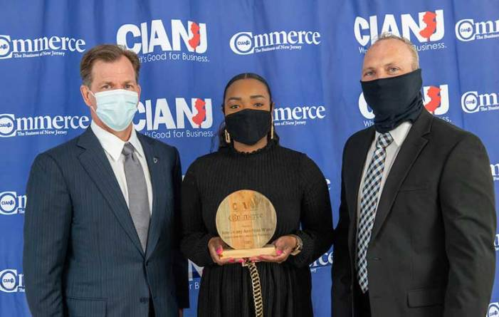 NJAW receives Commerce Magazine's Environmental Award