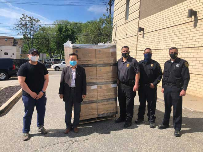 Thousands of masks, bottles of hand sanitizer donated to Belleville employees