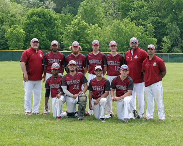 Bloomfield High School baseball team celebrates Senior Day