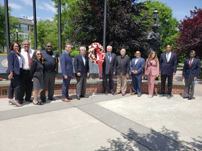 Essex County commemorates Memorial Day with wreath-laying ceremony