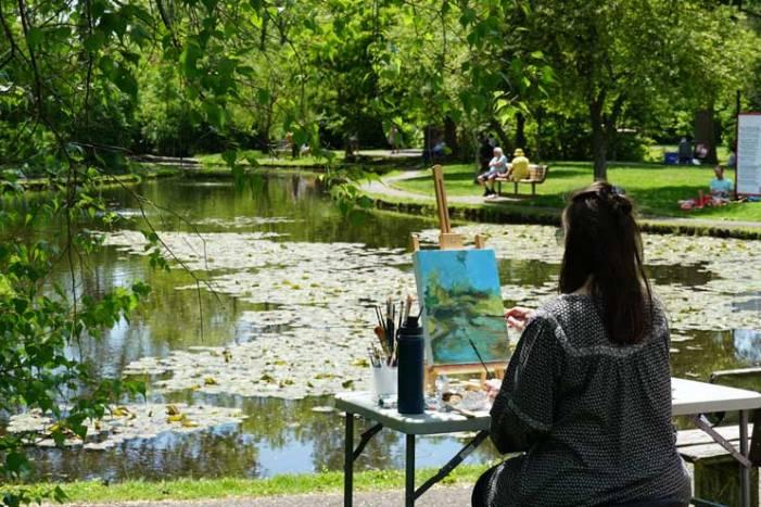 'Painters in the Park' inspires beautiful creations at Memorial Park