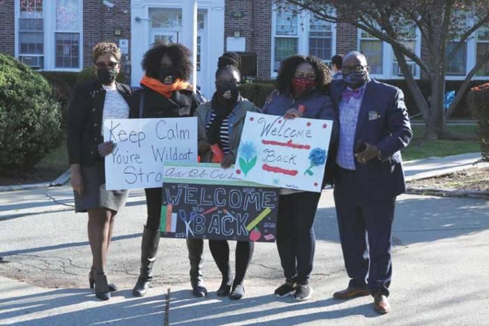 Orange Public Schools celebrates reopening school buildings