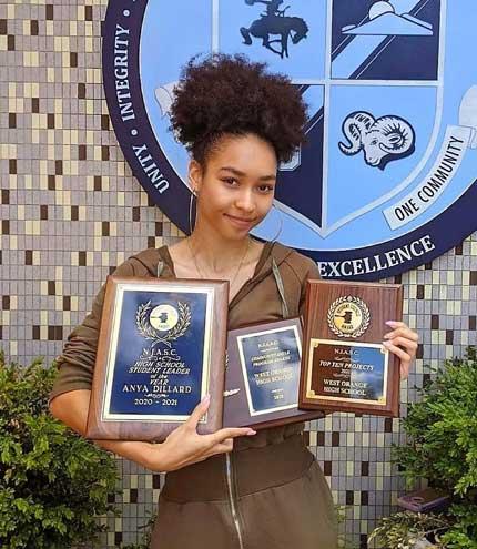 West Orange HS senior named Student Leader of the Year by NJASC