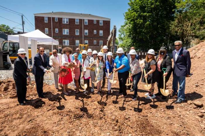 Mayor, local officials break ground on affordable apartment community in Irvington