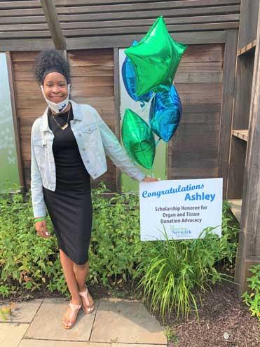 NJ Sharing Network awards scholarship to teen advocate from Newark