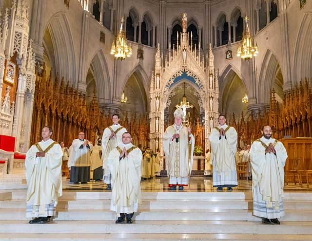 Archdiocese of Newark welcomes five new priests