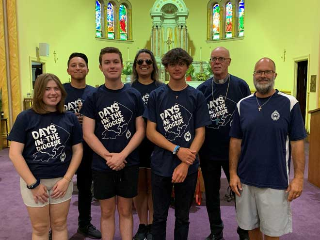 Teenagers to enjoy 'Days in the Diocese' this summer
