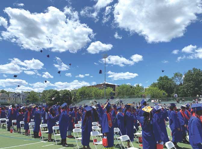 East Orange Campus High School bids farewell to graduating class