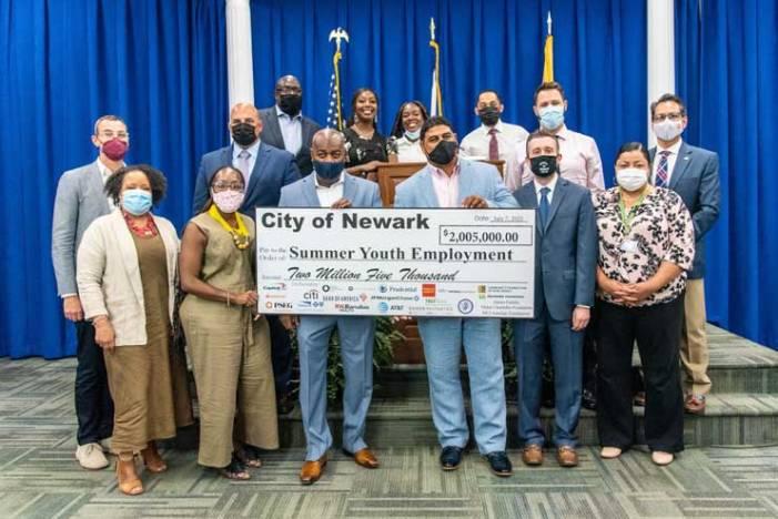 Newark launches 2021 Summer Youth Employment Program