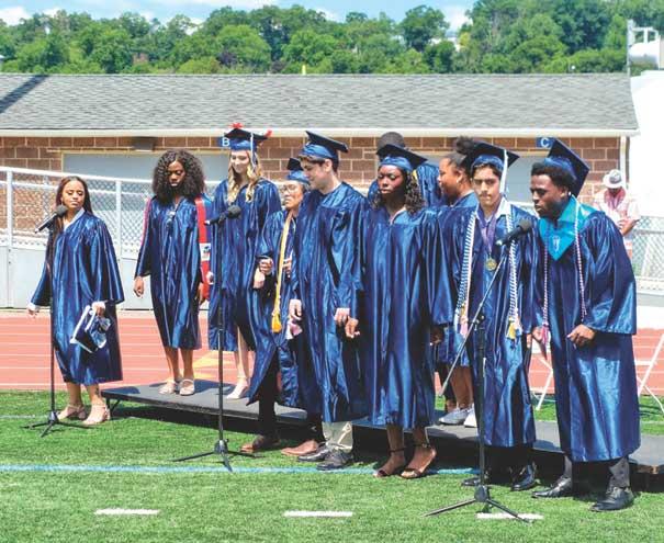 After a difficult year, West Orange HS graduates massive class