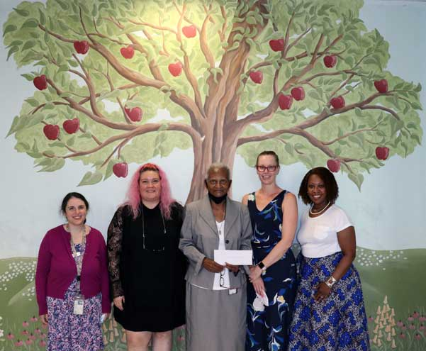 East Orange library receives community grant from JLOSH