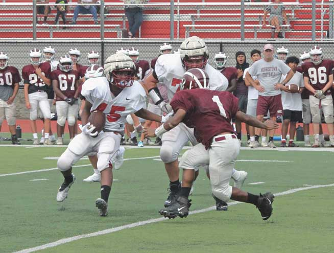 Bloomfield Bengals football demonstrates excellent commitment